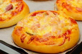 Школьная пицца по-домашнему