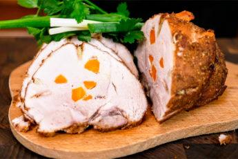 Свиной окорок в духовке на праздничный стол