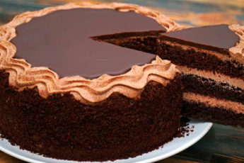 "Шоколадный торт ""Моя Прага"""