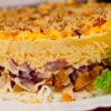 """""""Нежность"""" - салат с необычным сочетанием ингредиентов"""