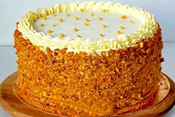 Торт-медовик «Винни-Пух»