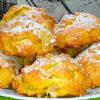 Мягкое итальянское печенье с яблоками и орехами
