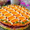 Праздничный салат: простые ингредиенты, отличное сочетание