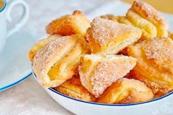 Идеальный рецепт приготовления творожного печенья. Слоеное, хрустящее, тающее во рту