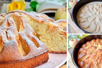 Яблочный пирог из детства: такие бабушка пекла