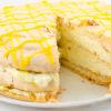 Идеальный меренговый торт с лимонным курдом
