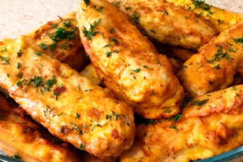 Курица «Царские пальчики»: давно забытый рецепт!