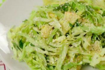 Новинки сезона — 3 салата из молодой капусты, которые вы еще не готовили!