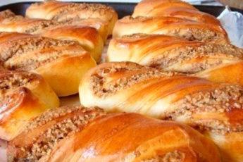 Ореховые булочки: нежные, ароматные и манящие
