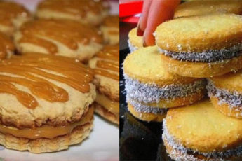 2 рецепта домашнего печенья с вареной сгущенкой