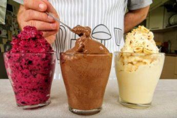 Магазины и рядом не стоят. Три вида вкусного домашнего мороженого за 5 минут