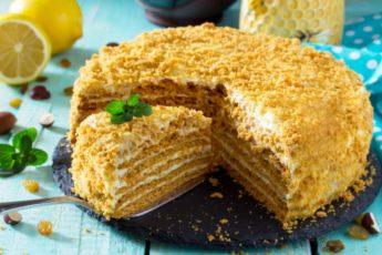 Торт «Рыжик». Один из самых вкусных домашних тортов