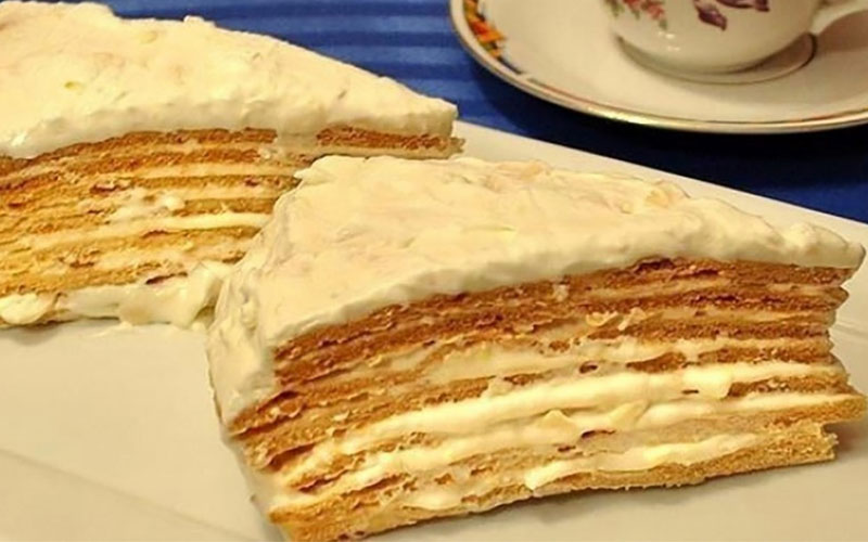 Торт «Парижский коктейль» — удивительно вкусное лакомство