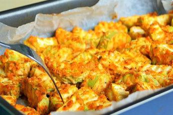 Летний рецепт кабачков в духовке: едим уже 2 недели и не надоедает