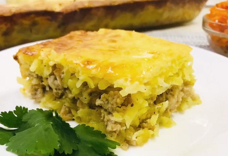 Картофельная запеканка с фаршем: сытное и вкусное блюдо