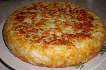 Пирог «Шарлотка с капустой»