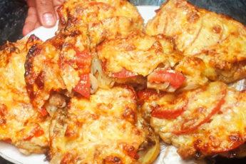 Картошка по-французски без мяса. Идеально для летнего вечера