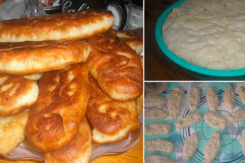 Тесто для пирожков за 15 минут
