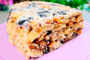 Торт без выпечки, который готовится пару минут. Вкусно, да еще и полезно!