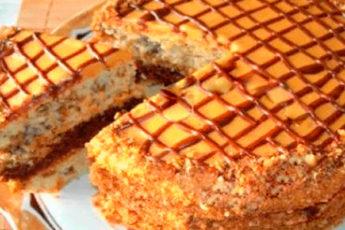 Простой домашний торт «Витязь» для семейного чаепития!