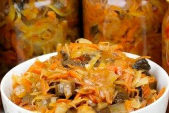 Соляночка «Зимняя» — простая и очень вкусная заготовка на зиму