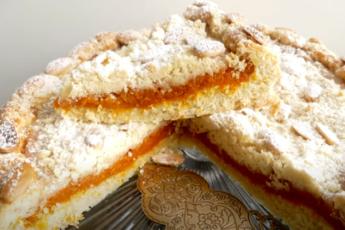 Пирог татарский с курагой! Вкуснейшая выпечка для домашнего чаепития