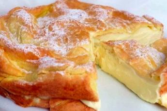 Польский торт, который тает во рту, — очень просто и дёшево