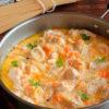 Шикарный ужин — подлива из курицы со сметаной