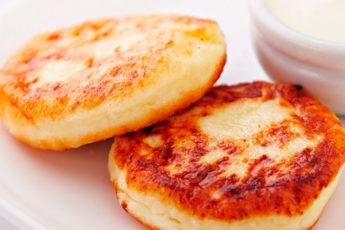 Сырники нежные и очень вкусные