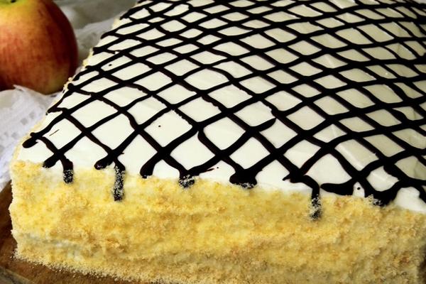 Невероятный яблочный торт