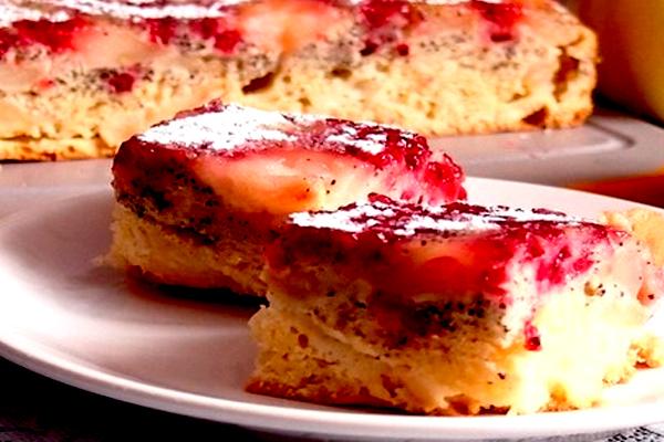 Королевский пирог с фруктами и ягодами