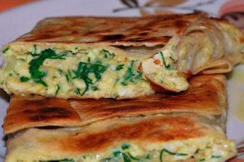 Конвертики из лаваша: хрустящее тесто и вкусная начинка